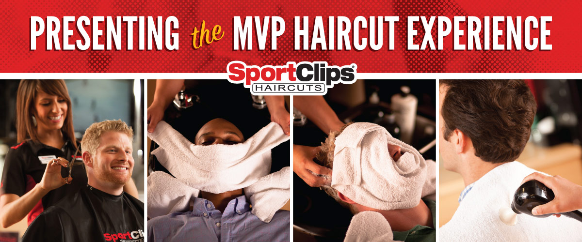 The Sport Clips Haircuts of The Woodlands-College Park Center MVP Haircut Experience